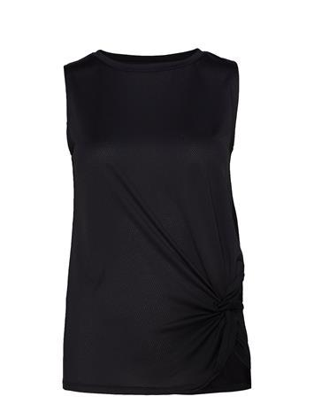 Rä–HNISCH Knot Singlet T-shirts & Tops Sleeveless Vaaleanpunainen Rä–HNISCH CORAL