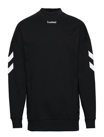 HUMMEL HIVE Hmlchris Sweatshirt Svetari Collegepaita Musta HUMMEL HIVE BLACK