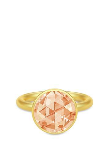 JULIE SANDLAU Cocktail Ring - Gold/Champagne Sormus Korut Kulta JULIE SANDLAU GOLD / CHAMPAGNE