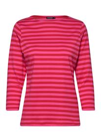 Marimekko Ilma 2017 Shirt T-shirts & Tops Sleeveless Punainen Marimekko RED, PINK