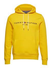 TOMMY HILFIGER Tommy Logo Hoody Huppari Harmaa TOMMY HILFIGER CLOUD HTR