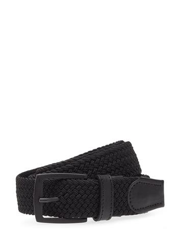 MATINIQUE Braidonma Accessories Belts Braided Belt Musta MATINIQUE BLACK