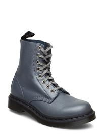 DR. MARTENS Pascal Shoes Boots Ankle Boots Ankle Boots Flat Heel Harmaa DR. MARTENS BLACK