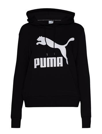 PUMA Classics Logo Hoody Huppari Musta PUMA PUMA BLACK