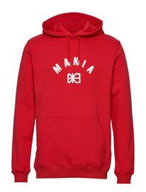 MAKIA Brand Hooded Sweatshirt Huppari Punainen MAKIA RED