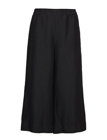 MARIMEKKO Tuulelma Solid Trousers Leveälahkeiset Housut Musta MARIMEKKO BLACK