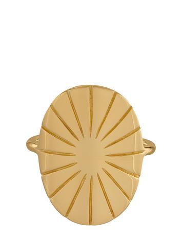 PERNILLE CORYDON Copenhagen Ring Sormus Korut Kulta PERNILLE CORYDON GOLD PLATED
