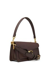 COACH Mixed Leather With Polished Pebble Tabby Shoulder Bag 26 Bags Top Handle Bags Ruskea COACH B4/OXBLOOD