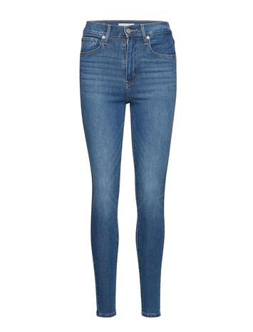LEVI´S WOMEN Mile High Super Skinny On Call Skinny Farkut Sininen LEVI´S WOMEN MED INDIGO - WORN IN