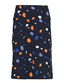 NANSO Ladies Skirt, PyöRre Polvipituinen Hame Monivärinen/Kuvioitu NANSO BLUE