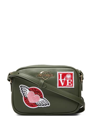 LOVE MOSCHINO BAGS Love Moschino Patches Bags Small Shoulder Bags/crossbody Bags Vihreä LOVE MOSCHINO BAGS GREEN