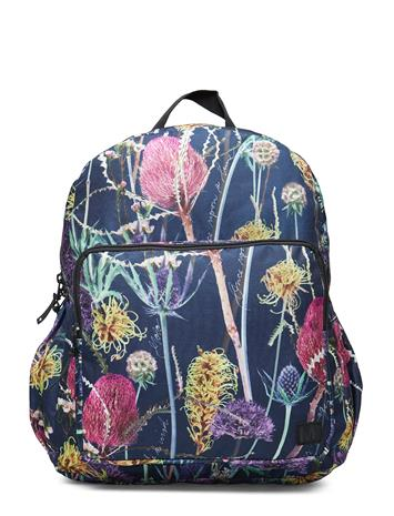 MOLO Big Backpack Accessories Bags Backpacks Sininen MOLO SPACE TRAFFIC