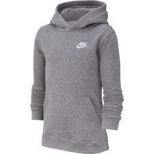 Nike Huppari NSW Club - Harmaa/Valkoinen Lapset