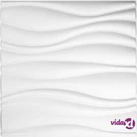 WallArt Seinäpaneelit 3D aalto 12 kpl GA-WA04, Tarvikkeet ja lisävarusteet
