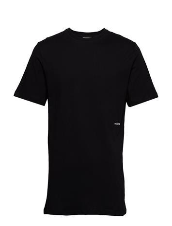 SOULLAND Coffey T-shirts Short-sleeved Musta SOULLAND BLACK