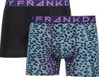 Frank Dandy M 2P ANIMAL CAMO BOXER LILAC/BLACK