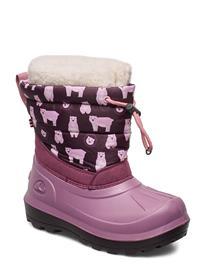 Viking Snowfall Bear Talvisaappaat Vaaleanpunainen Viking VIOLET/PINK