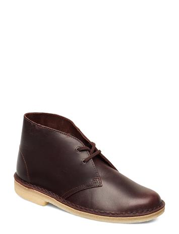 Clarks Desert Boot. Shoes Boots Ankle Boots Ankle Boots Flat Heel Ruskea Clarks CHESTNUT LEATHER