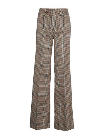 Marciano by GUESS Selma Plaid Pant Leveälahkeiset Housut Marciano By GUESS CHECK WARM BEIGE/