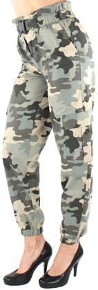 Only Onllene Camo Long Pant Wvn