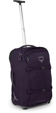 Osprey Fairview Wheels 36 Selkäreppu Naiset, amulet purple