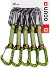 Ocun Hawk QD Combi PAD 16 Express Set 5-Pack, green