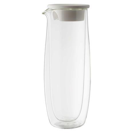 Villeroy & Boch Artesano Hot & Cold Beverage Glass Carafe With Lid, 1 L