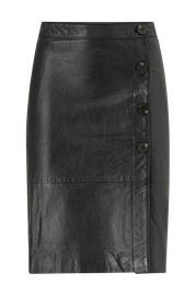 "Vila ""Nahkahame viElfi HW Leather Skirt"""