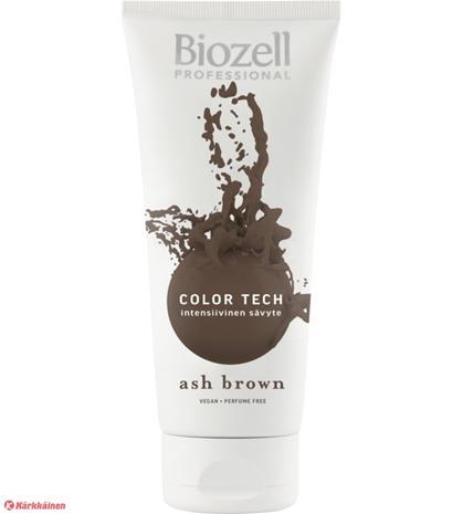 Biozell Professional Color Tech Ash Brown 200 ml intensiivinen sävyte
