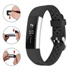 Fitbit Alta HR two tone soft silicone watch band - Size: L /