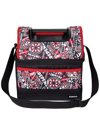 Independent X Igloo Playmate Gripper Cooler black / red