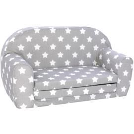 knorr® toys Lasten sohva harmaa/valkoinen