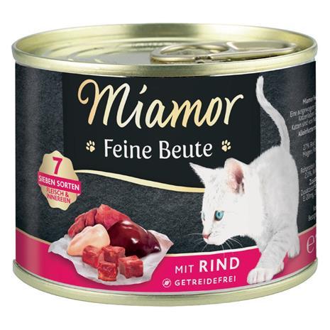 Miamor Feine Beute Kitten - 12 x 185g siipikarja