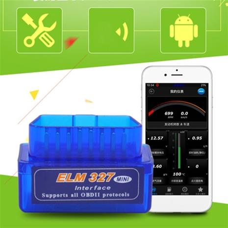 OBD V2.1 mini ELM327 OBD2 Bluetooth Autodiagnostiikka