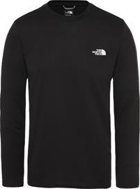 The North Face Reaxion Amp Pitkähihainen Crew Miehet, tnf black