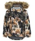 Molo talvitakki Hopla Fur Fox Camo