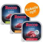 Rocco Classic -kokeilupakkaus 9 x 300 g - Classic-mix 1: nauta, pötsi, siipikarjansydän