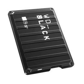 WD Black P10 Game Drive (2 TB, USB 3.0) WDBA2W0020BBK, ulkoinen kovalevy