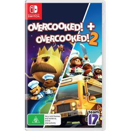 Overcooked + Overcooked 2 Double Pack, Nintendo Switch -peli