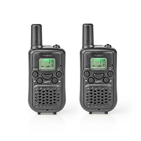 Radiopuhelin | Kantama 5 km | 8 kanavaa | VOX | 2 osaa | Musta