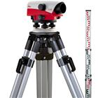 Leica NA720, optinen vaaituslaite, jalusta ja vaaitustanko