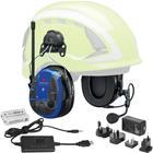 3M Peltor WS Alert XPI Kuulonsuojain sis. Bluetooth ja mobiilisovellus, kypäräkiinnitys, latauspaketti