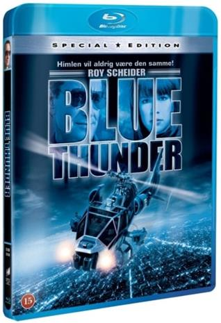 Blue Thunder (1983, Blu-Ray), elokuva