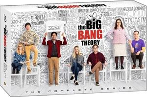 Rillit huurussa (The Big Bang Theory): Kaudet 1-12 (Blu-Ray), TV-sarja