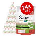 Schesir Organic Pouch 24 x 85 g - nauta