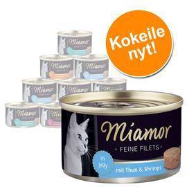 Miamor Fine Filets in Jelly -kokeilupakkaus 12 x 100 g - lajitelma II