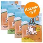 Barkoo Mini Bones -kokeilupakkaus (puolikostea) - mix: mahalaukku + lohi (2 x 200 g)