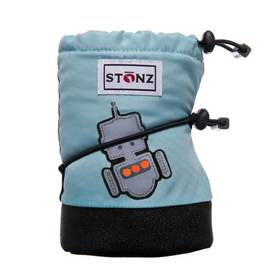 Stonz Booties Robot Haze Blue Plus Töppöset L