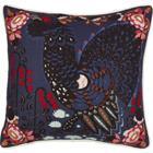 Klaus Haapaniemi Grouse in the Woods tyynynpäällinen, pellava-puuvilla, sininen