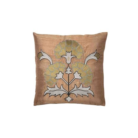 Day Home Day Love Flower Cushion cover 40x40 cm, Moss